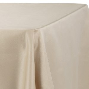 Cheap Champagne Tablecloths Awesome Lamour Satin 90 x 132 inch Rectangular Tablecloth Champagne at CV