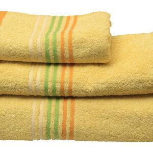 Πετσέτα πενιέ Stripes Yellow
