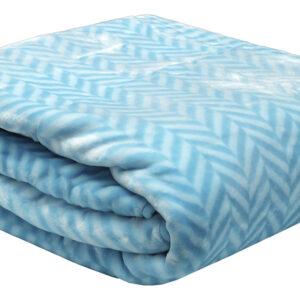 Κουβέρτα βελούδινη ζακάρ Turquoise